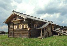 Сказка в сказке. Фото галерея резных наличников из старых русских городов.