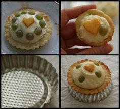 Pradobroty: Tartaletky s tvarohovým krémem a ovocem Kefir, Pie, Cupcakes, Breakfast, Food, Torte, Morning Coffee, Cake, Cupcake Cakes
