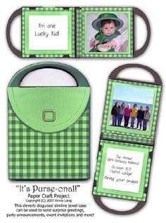 tutorial and template printable -made from a cd jewel case - a mini album could fit inside