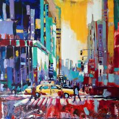 View New York City Yellow Cab by Javier Pena. Browse more art for sale at great prices. New art added daily. Buy original art direct from international artists. Shop now