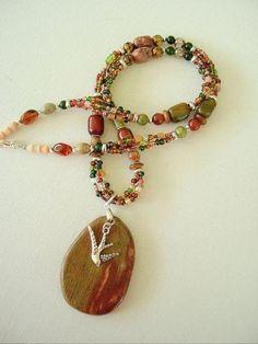 Boho Southwest Necklace, Cowgirl