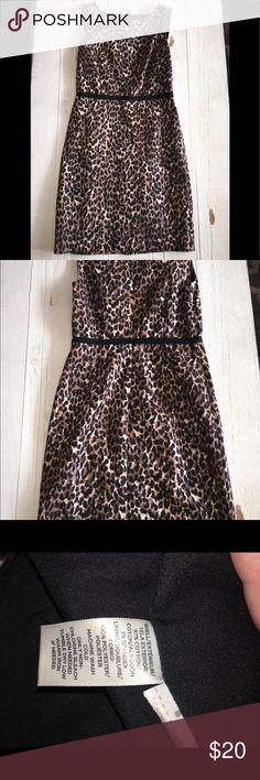LOFT Animal Print Dress LOFT Animal Print Dress  2/1 LOFT Dresses