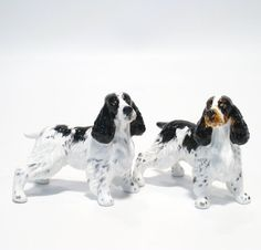 English Springer Spaniel Dog Ceramic Figurine Salt Pepper Shaker 00002 Ceramic Handmade Dog Lover Gift Collectible Home Decor Art and Crafts by English Springer Spaniel - madamepOmm -. $59.00. English Springer Spaniel Dog Lover Ceramic Original Handmade Hand Paint Salt and Pepper Shaker Figurine Ceramic Home Decor Collectibles  Made of ceramic porcelain high fired interior apply clear under-glaze, food safe painted with attention hand painted acrylic paint then apply...