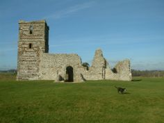 Knowlton church - nr Wimborne, Dorset.