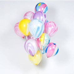 marbleized balloons, kids birthday party ideas, cool kids parties, party supplies