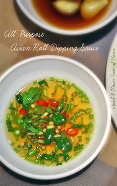 All-Purpose Asian Roll Dipping Sauce | http://www.bubblews.com/account/155732-aprilz | #Asian_recipe #spring_roll #summer_roll #skinny