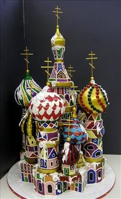 Amazing St Basil's Cathedral Cake ~ Colette's Cakes