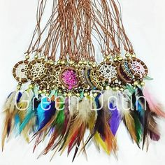 Please be informed that Green Daun Craft Shop will be closed from 12th - 17th July. We will resume our business on 18th July from 10.30am to 8pm. . . . . . In the photo are custom made dream catcher necklaces for a special event. . . . . . www.greendaun.com . . . . . #dreamcatcher #dreamcatchermalaysia #dreamcatchernecklace #souvenirs #greendaun #fashionjewelry #jewelry #fashionaccesories #bohochic http://ift.tt/2tDDOlq