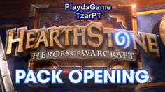 PlaydaGame Pack open Hearthstone expansão