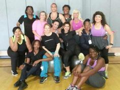 Lola loves the ladies from Urban Fitness 911!