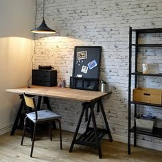 Awesome Deco Chambre Industrielle that you must know, You're in good company if you're looking for Deco Chambre Industrielle Home Office Design, Home Office Decor, House Design, Home Decor, Teenage Room, Layout Design, Ikea, Bedroom Decor, Boys Bedroom Furniture