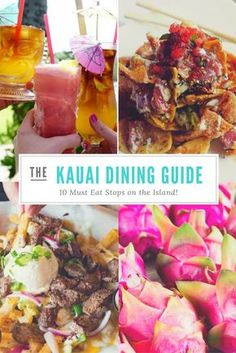 I received complimentary meals and a stay in order to facilitate this post, all opinions are my own. Where to Eat In Kauai When you think of Hawaii you probably think lush landscapes, beautiful beaches, Maui, Kauai Hawaii, Hawaii 2017, Hawaii Life, Kauai Vacation, Hawaii Honeymoon, Vacation Trips, Vacation Ideas, Beach Vacations