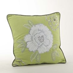 Embroidered Design Pillow