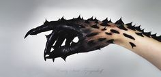 Hatred and other negative emotions become so toxically strong, the Beasts energy expels it from within into physical form as it leaks out of the pores and oozes out over the skin
