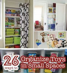 Organizing A Small House 20 brilliant toy storage and organization ideas | organized
