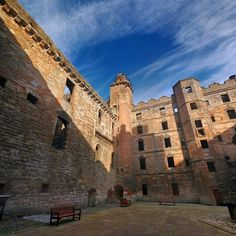 Linlithgow Palace, West Lothian (Wentworth Prison)