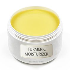 DIY Turmeric homemade moisturizer -  deeply hydrate, heal and revitalize the skin, leaving a luminous glow and helping to reduce irritation, dryness and blemish marks. Can be used as a moisturizer or mask.