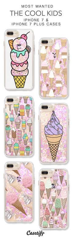 Most Wanted The Cool Kids iPhone 7 Cases & iPhone 7 Plus Cases. More protective liquid glitter icecream iPhone case here > https://www.casetify.com/en_US/collections/iphone-7-glitter-cases#/?vc=11ivvR9cqm