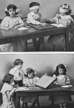 La méthode Montessori pour les enfants malvoyants