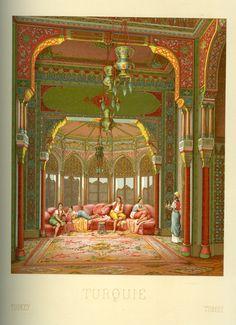 Turkey Racinet, Auguste. Costume Historique. Paris: Firmin-Didot et Cie, 1888. Margaret M. Bridwell Art Library, University of Louisville.