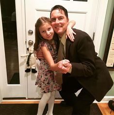Off to daddy-daughter dance