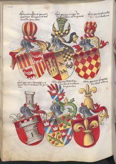 Grünenberg, Konrad: Das Wappenbuch Conrads von Grünenberg, Ritters und Bürgers zu Constanz um 1480 Cgm 145 Folio 231