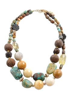 MultiStone Statement Necklace