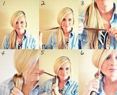 DIY Hair Beauty: Chinese Staircase Braid