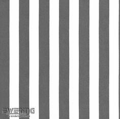 Rasch Sophie Charlotte 7 440249 Streifen Schwarz Weiß Vliestapete