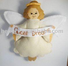 angel de fieltro-Adornos navideños-Identificación del producto:367810268-spanish.alibaba.com