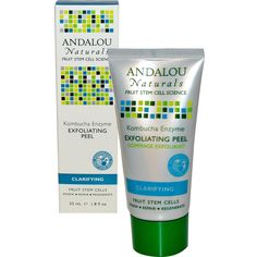 Use gift code LUD979 to get $10.00 off  Andalou Naturals, Exfoliating Peel, Kombucha Enzyme, 1.8 fl oz (53 ml)