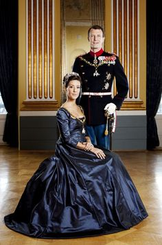 T.R.H.s Prince Joachim and Princess Marie of Denmark