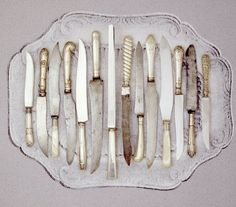 silver knives