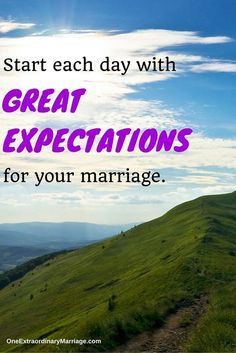 Every day, expect the best. Out of yourself, out of your spouse, out of your marriage. Start the day with a positive outlook and you will find that the more positive you are, the more positive your world becomes. Tag the love of your life in the comments below and share your GREAT EXPECTATIONS.  #everyday #marriage #iloveyou #thebest #expectations #outlook #positive #happy #couple #marriedlife #loveyouguys