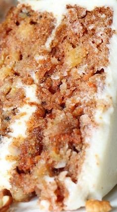Out of this World Carrot Cake Recipe with Callie's Cream Cheese Icing ~ Seriously, so delicious