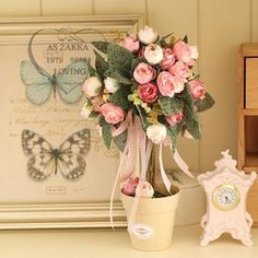 Flores artificiales que parezcan de verdad. 1