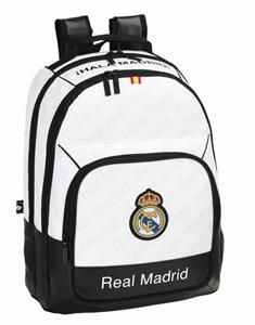 82a1d26254d4a MOCHILA REAL MADRID DAY PACK DOBLE LETRA