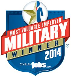 2014 Most Valuable Employers (MVE) for Military Winners