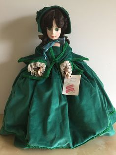 Madame Alexander Doll Scarlett O'Hara Gone by EstateSaleCompany