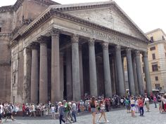 The Pantheon, Rome, Italy. May 2016.