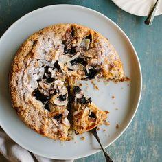 my darling lemon thyme: Gluten-free Blueberry, Lemon + Coconut Cake Gluten Free Cakes, Gluten Free Baking, Gluten Free Desserts, Lemon Desserts, Just Desserts, Dessert Recipes, French Desserts, Classic Desserts, Homemade Desserts