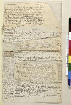 """Manuscrit autographe de """"Sodome et Gomorrh (1915-1916) -- Réunion des Musées Nationaux-Grand Palais -"""
