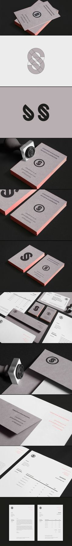 Een complete bedrijfshuisstijl inclusief stempel om het logo extra aan te brengen. #logo #huisstijl #design
