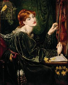 Cult of Beauty: Cult of Beauty - Veronica Veronese by Dante Gabriel Rossetti, 1872 While Walter Pater was working on his aesthetic book The Renaissance, Rossetti painted this flamboyant recreation of Renaissance art, successfully evoking the richness of 16th-century Venetian painting Photograph: Delaware Art Museum, Samuel and Mary R. Bancroft Memorial