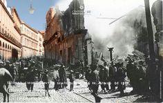 Durante la toma d zacatecas 100 años despues.