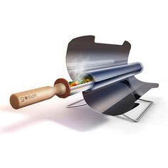 Harness the power of the sun and cook on the go with this solar stove.