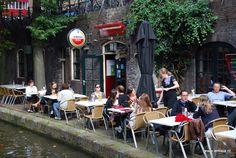 Winkelgevel -Terrasje - Straatje *Shop Front - Café Terrace - Alley ~Werfkelders Utrecht~
