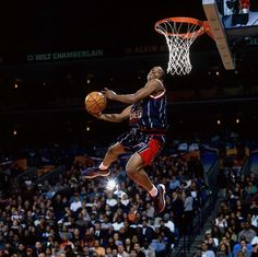 Steve Francis in the Dunk Contest.    For the latest Houston Rockets news and updates, visit www.rockets.com.