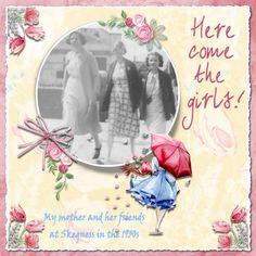 Here Come The Girls! - Scrapbook.com