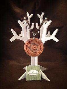 Collana in legno d'ulivo di Le Castemeraviglie su DaWanda.com